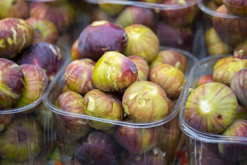 Dojrzałe figi dla sprzedaży zdjęcie stock