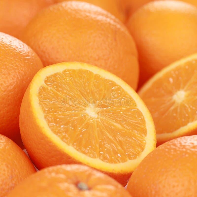 Dojrzałe pomarańcze zdjęcie royalty free