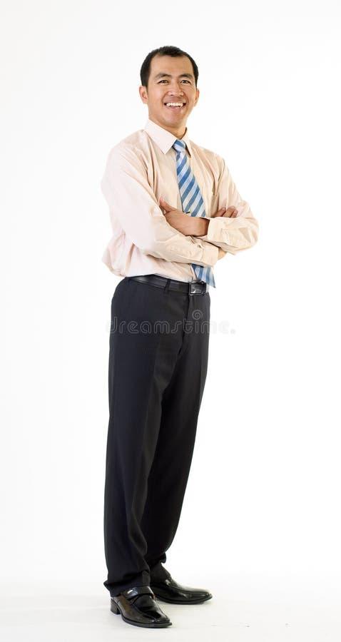 dojrzały azjatykci biznesowy mężczyzna zdjęcie royalty free