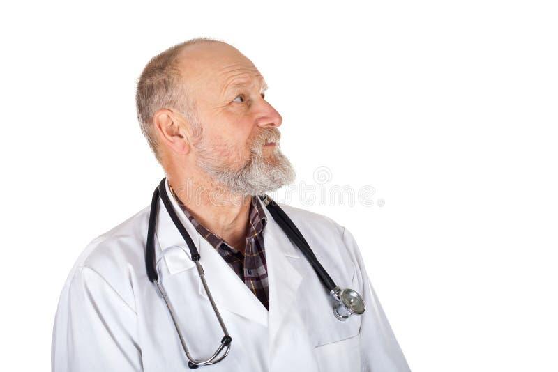 Dojrzały lekarz medycyny zdjęcia royalty free