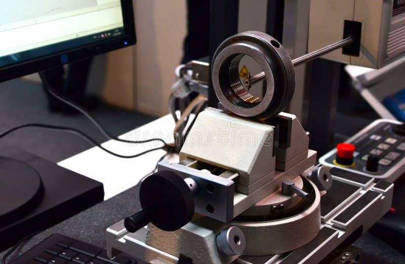 Dokładności nawierzchniowej burzliwości formy pomiarowy instrument zdjęcia stock