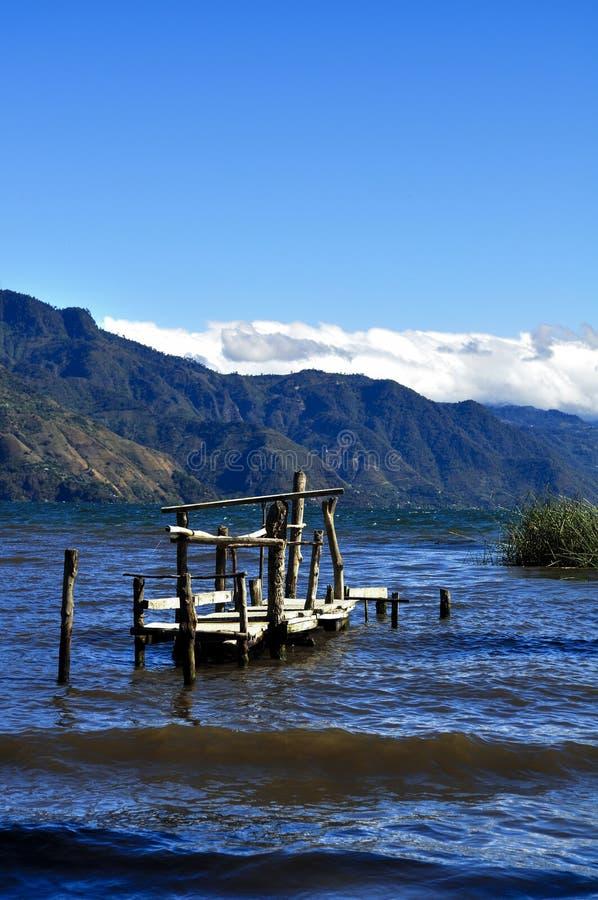 Dok en Meermening - Nicaragua stock fotografie