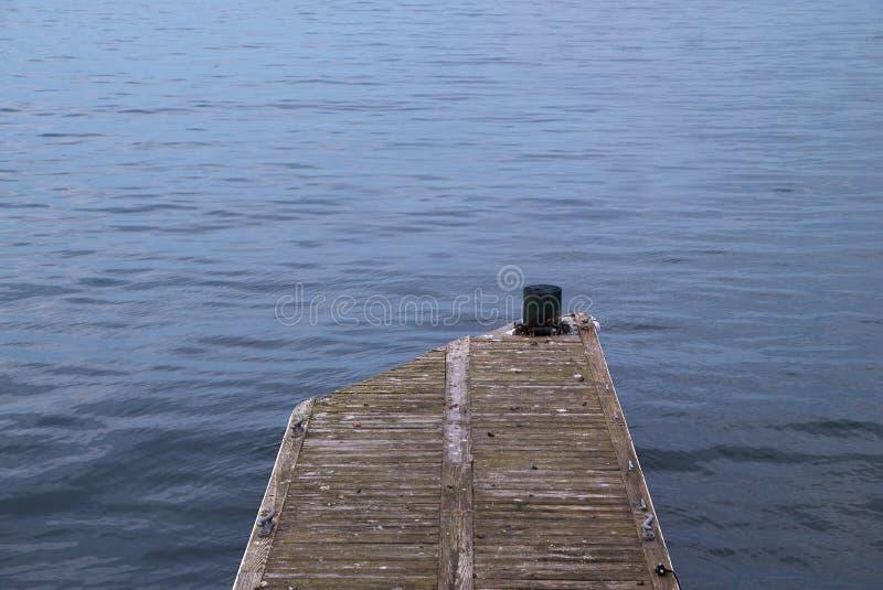 Dok en Oceaan stock foto
