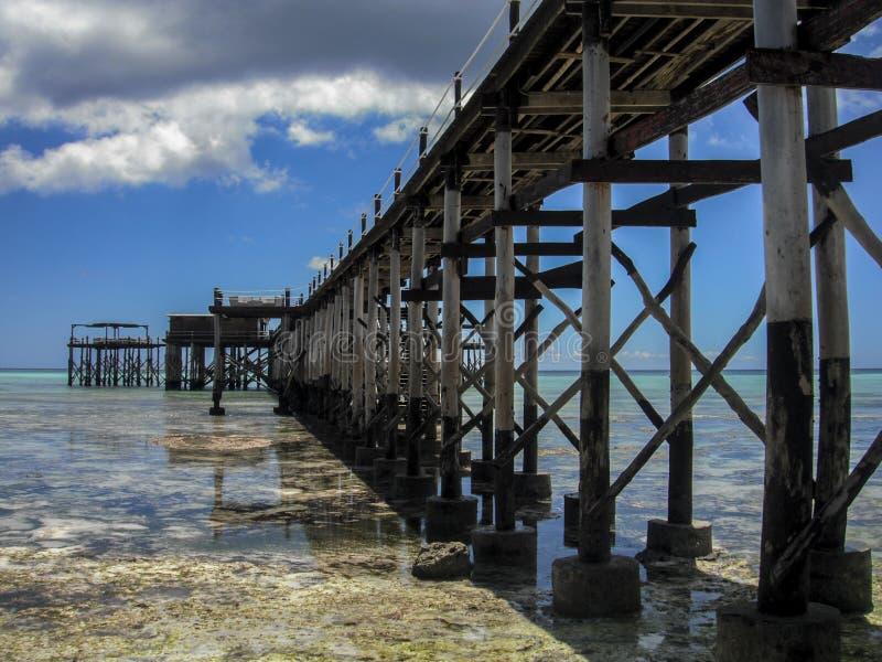 Dok 1 van Zanzibar stock foto
