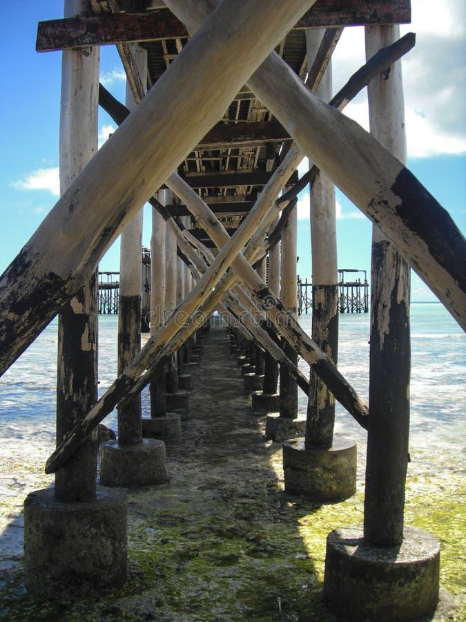 Dok 2 van Zanzibar stock fotografie