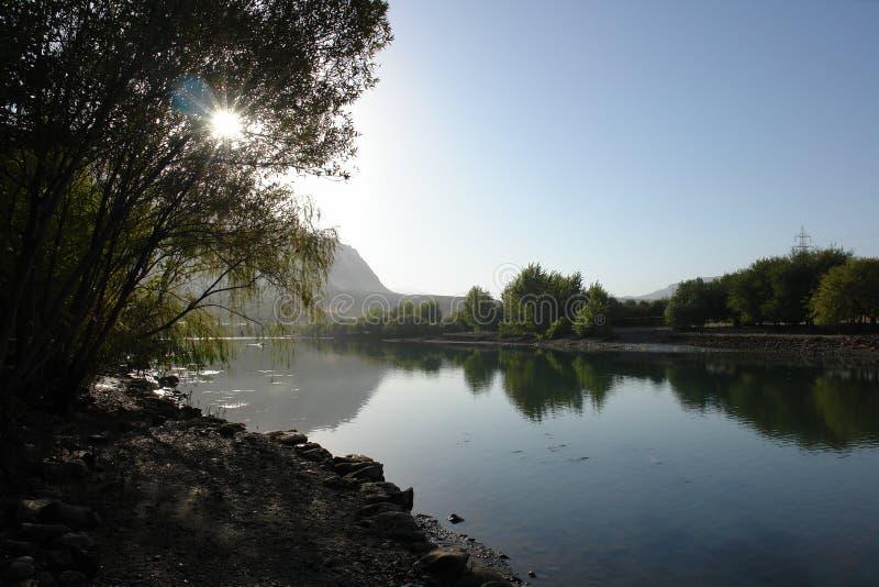 Dokan Lake royalty free stock photo