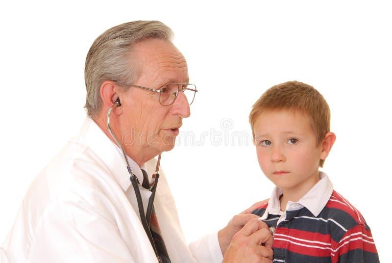 doktor 12 senior zdjęcia stock