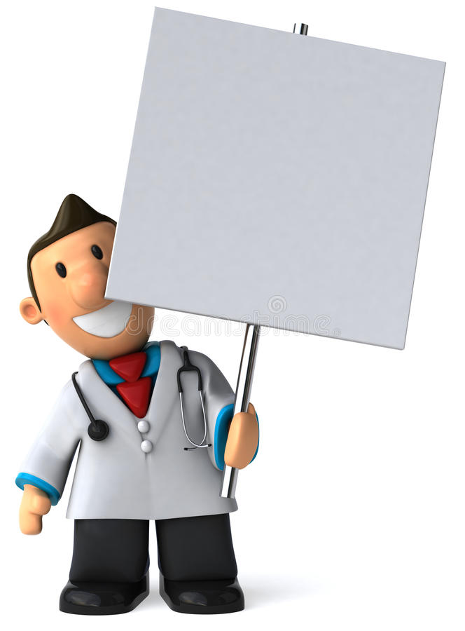Doktor stock abbildung
