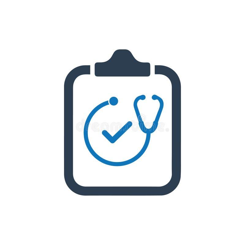 Doktor Appointment Icon lizenzfreie abbildung