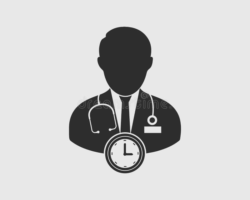Doktor Appointment Icon vektor abbildung