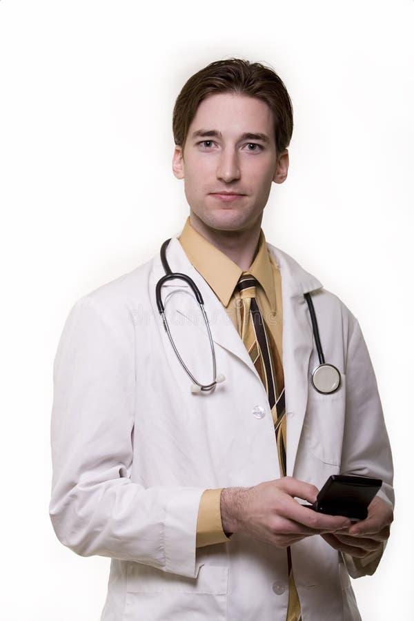 Doktor des jungen Mannes stockfoto