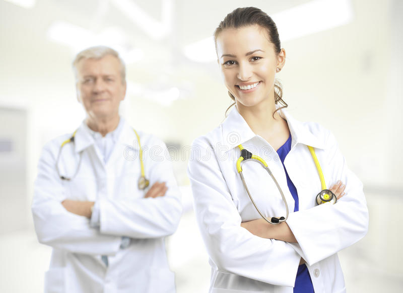 doktor kobieta fotografia stock