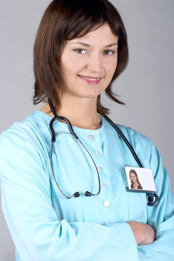doktor kobieta uśmiech zdjęcie royalty free