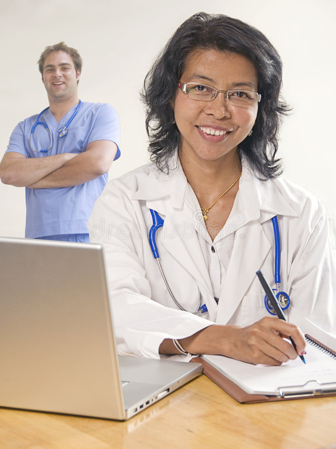 doktor kobiety zespołu zdjęcie royalty free