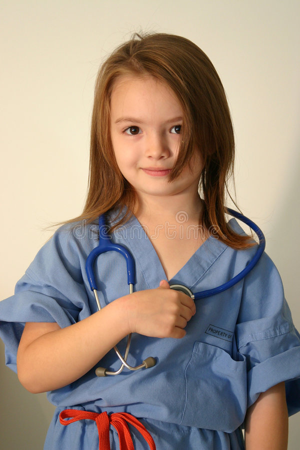 Doktor oder Krankenschwester lizenzfreies stockfoto