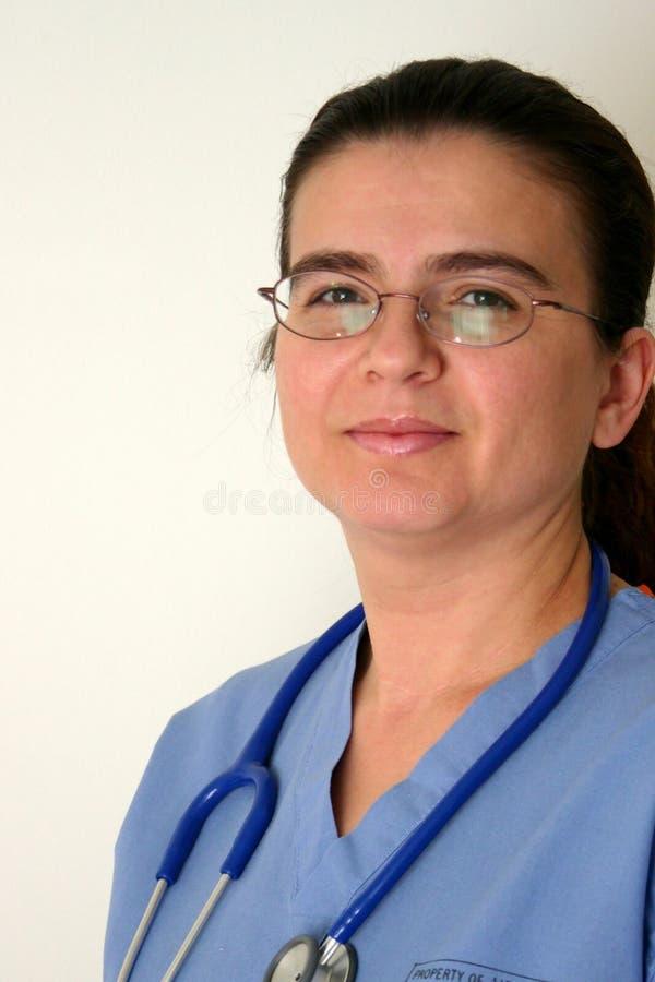 Doktor oder Krankenschwester lizenzfreie stockfotos