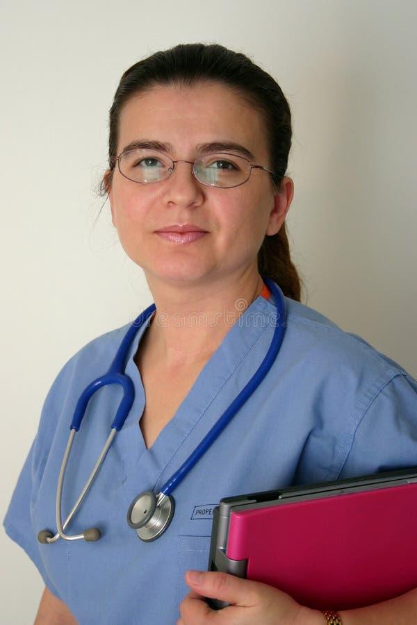 Doktor oder Krankenschwester lizenzfreie stockfotografie