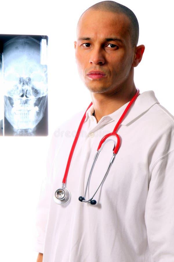 doktor poważnie obrazy stock
