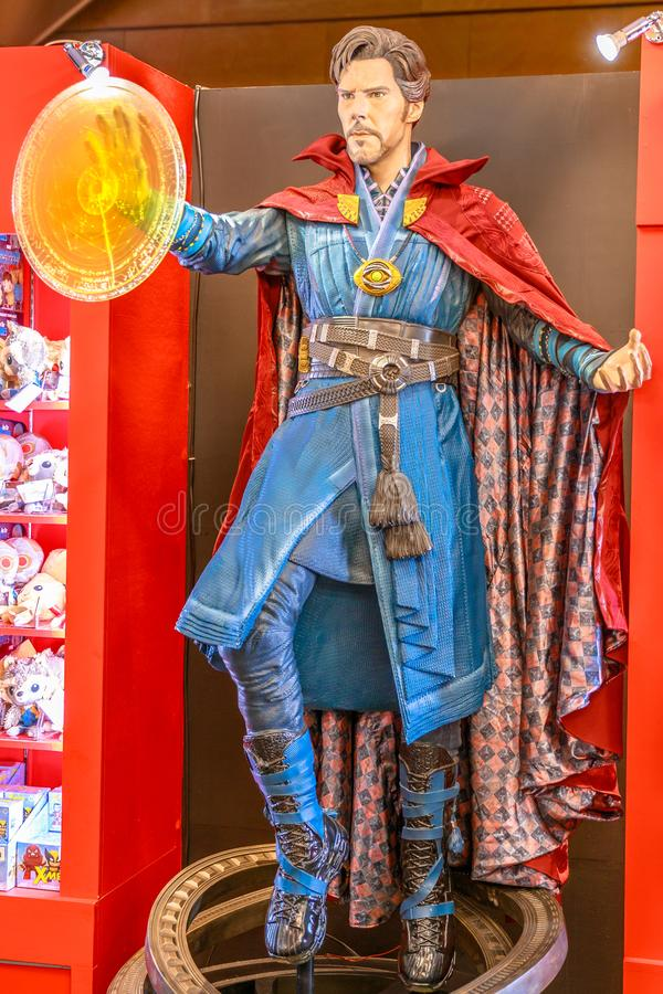 Doktor Strange Marvel royaltyfri bild