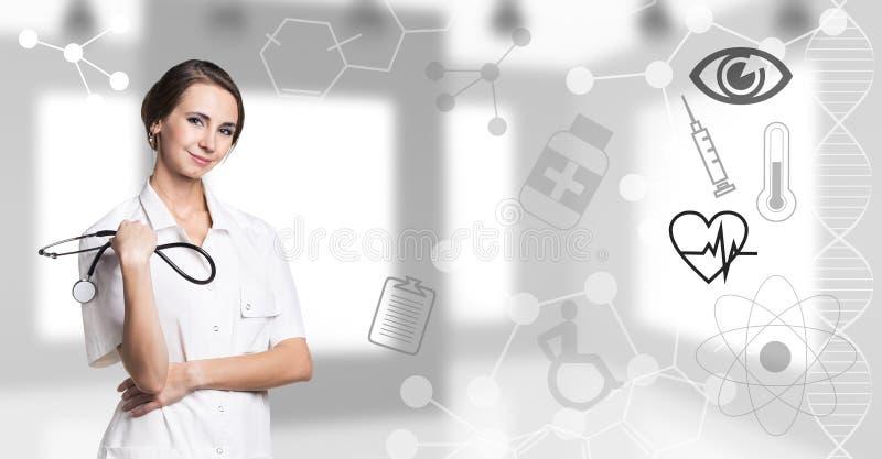 doktor young kobiet obrazy stock