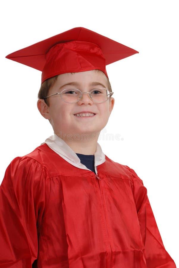 doktorand- barn arkivfoton