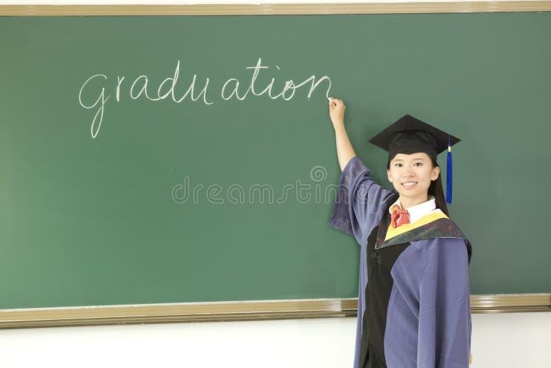 doktorand- miss arkivfoto