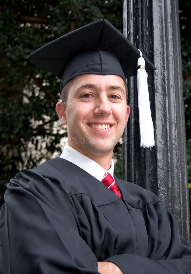 doktorand- stolt royaltyfri foto