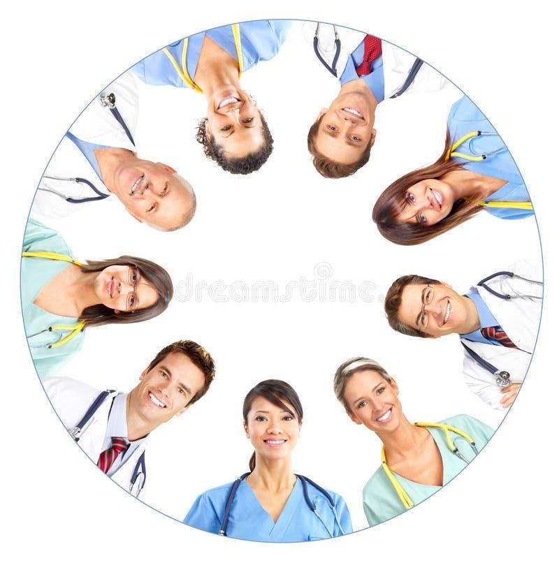 Doktoren lizenzfreie stockbilder