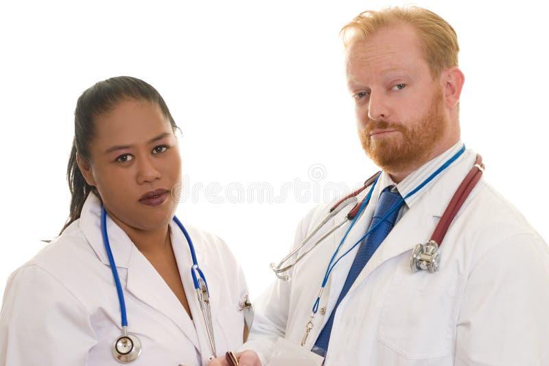 Doktoren stockfoto