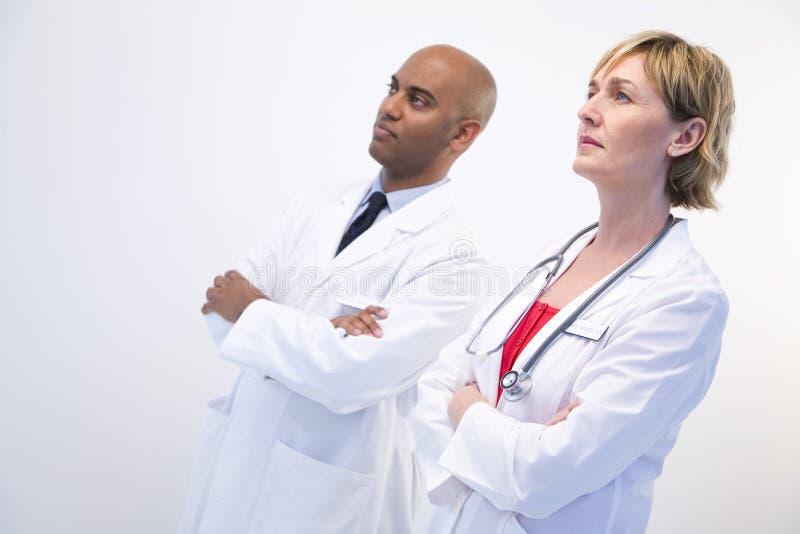 Doktoren lizenzfreie stockfotografie