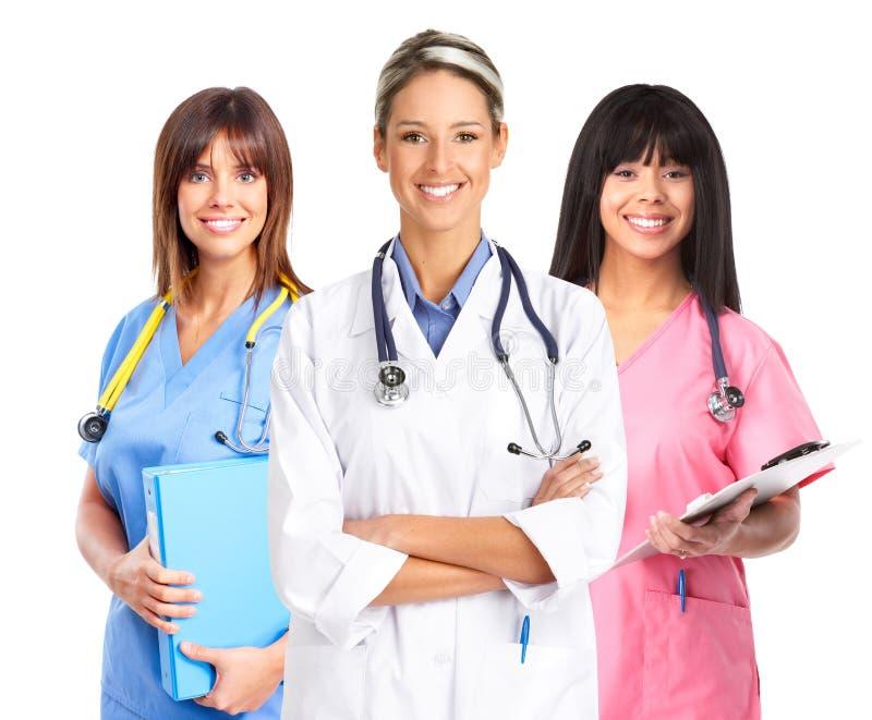 Doktoren lizenzfreies stockbild