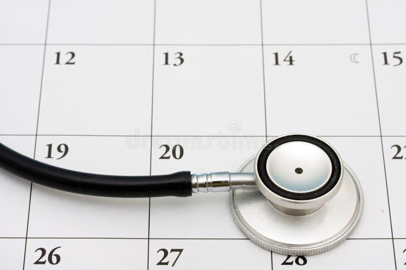 Doktoren Appointment stockbild