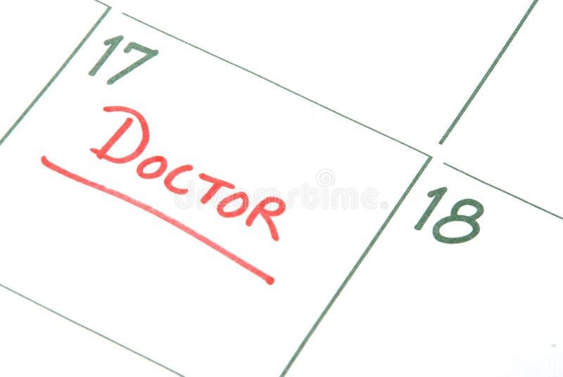 Doktoren Appointment lizenzfreies stockfoto