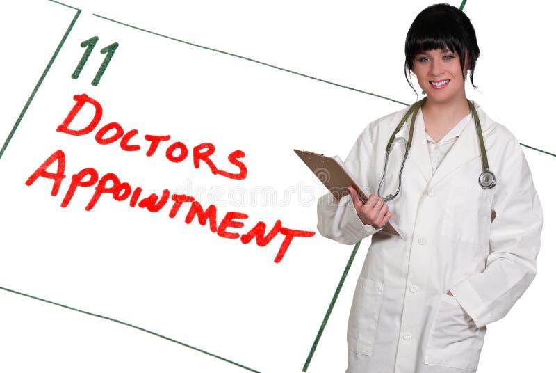 Doktoren Appointment stockbilder