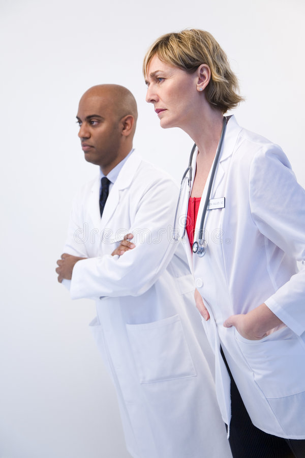 Doktoren Team stockfotos