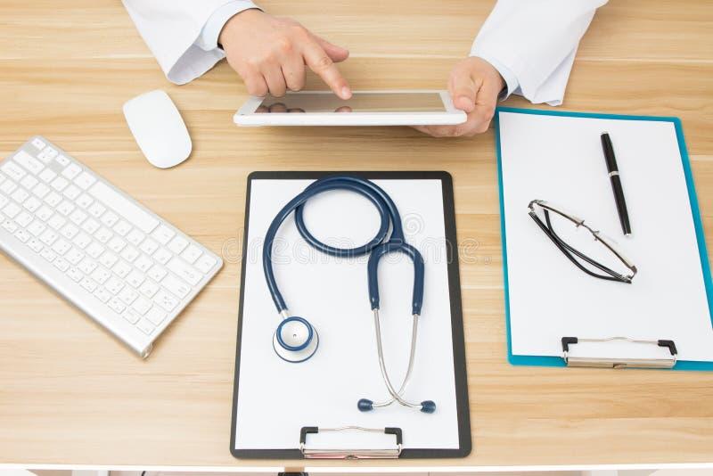 Doktorer på arbete arkivbild
