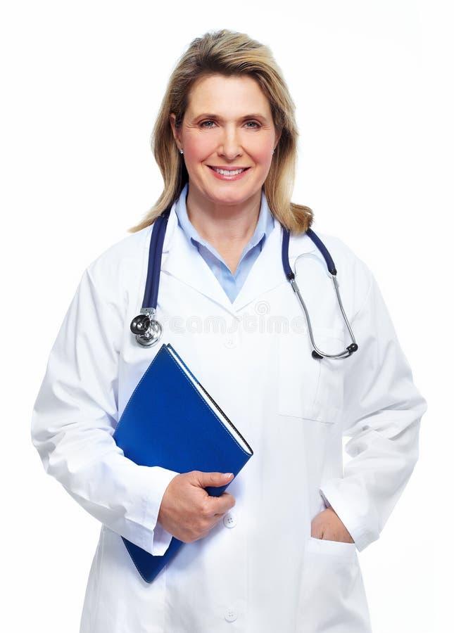 Doktorfrau. lizenzfreie stockbilder