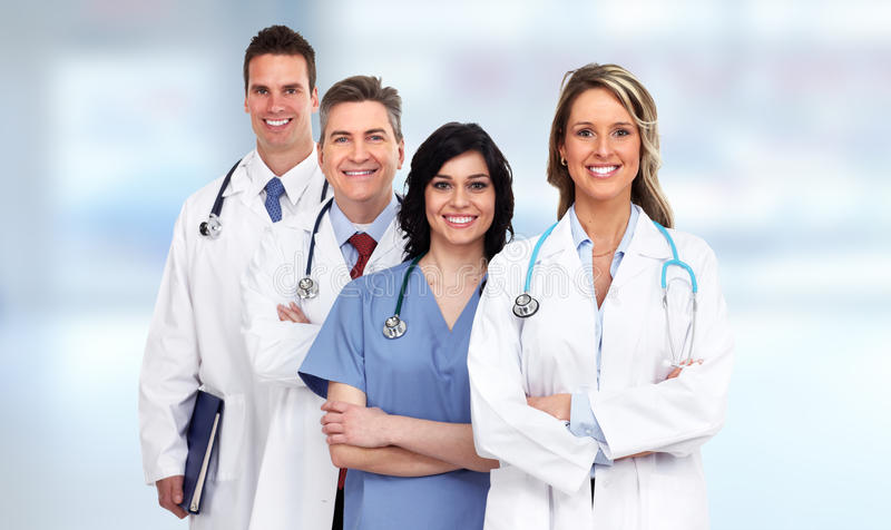 Doktorgruppe lizenzfreies stockfoto