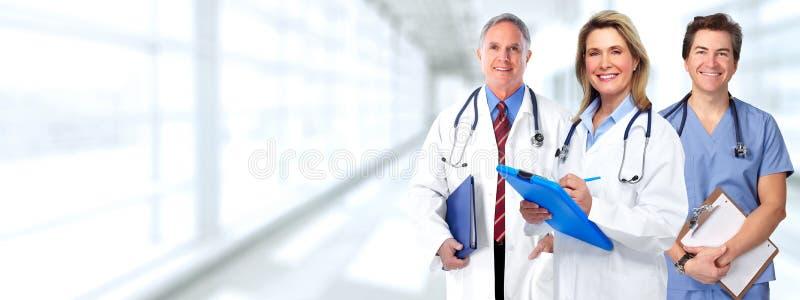 Doktorgruppe lizenzfreie stockfotos