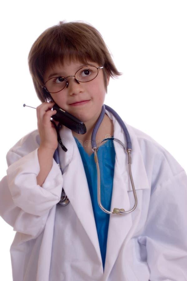 doktorsbarn arkivfoton
