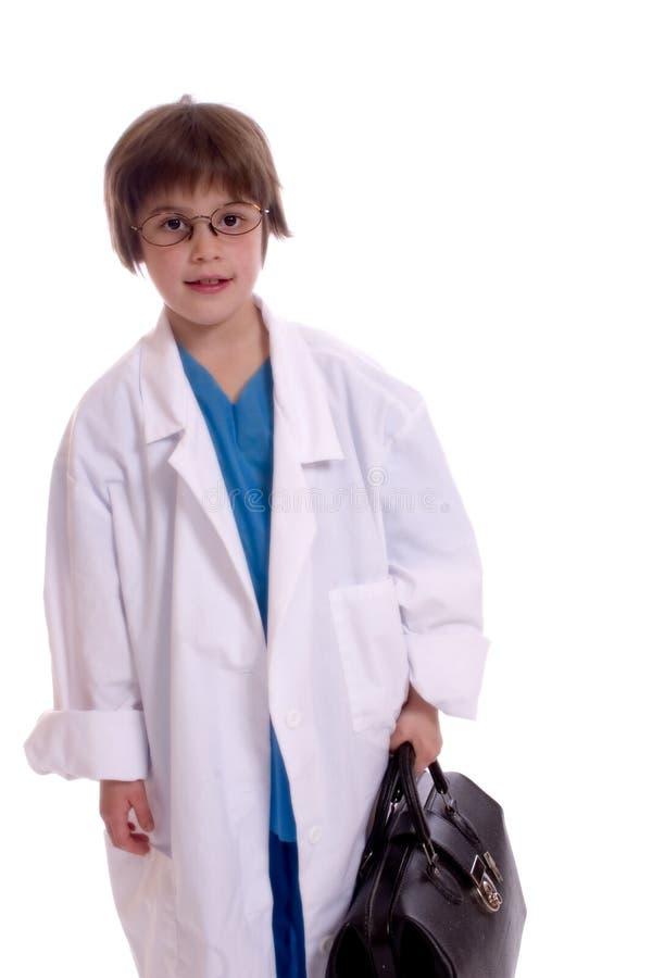 doktorsbarn arkivfoto