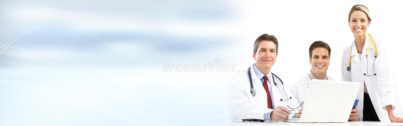 Doktorsgrupp arkivbilder