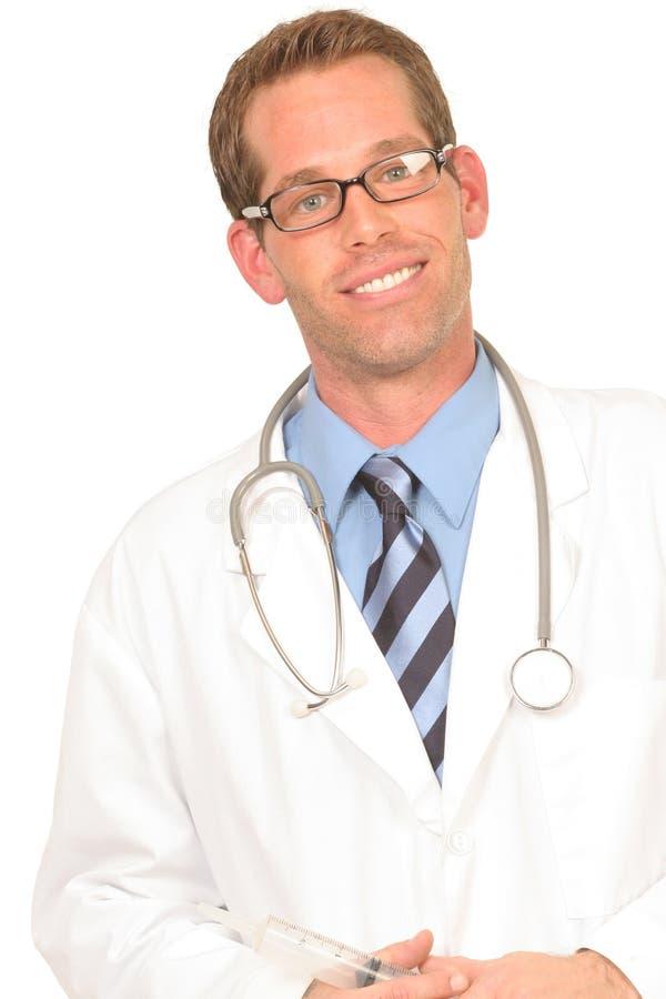 doktorshjälp som är klar till royaltyfri bild
