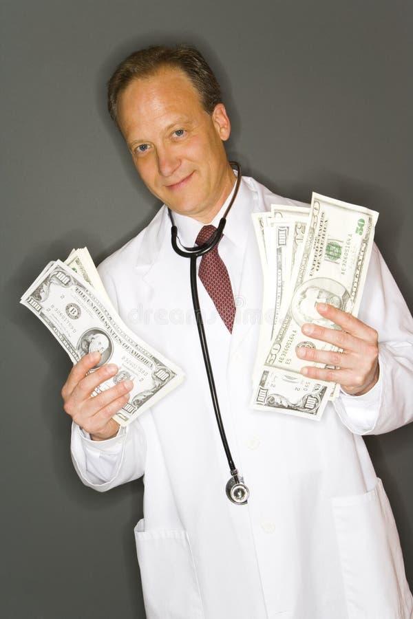 doktorsintäkter s royaltyfri foto