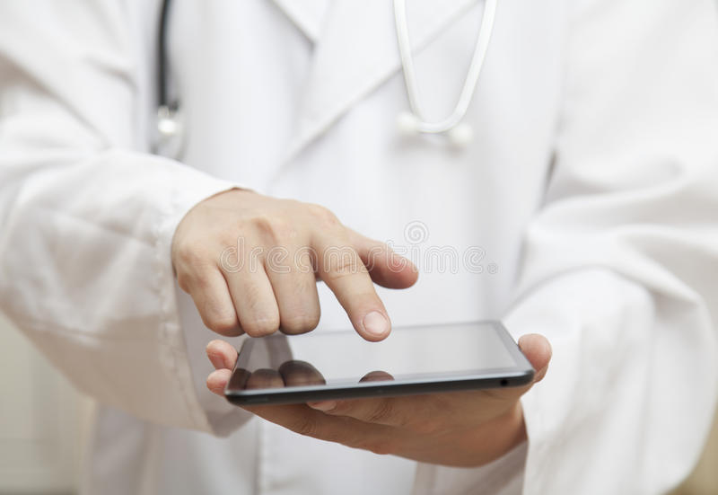 Doktorska i nowożytna technologia obrazy royalty free