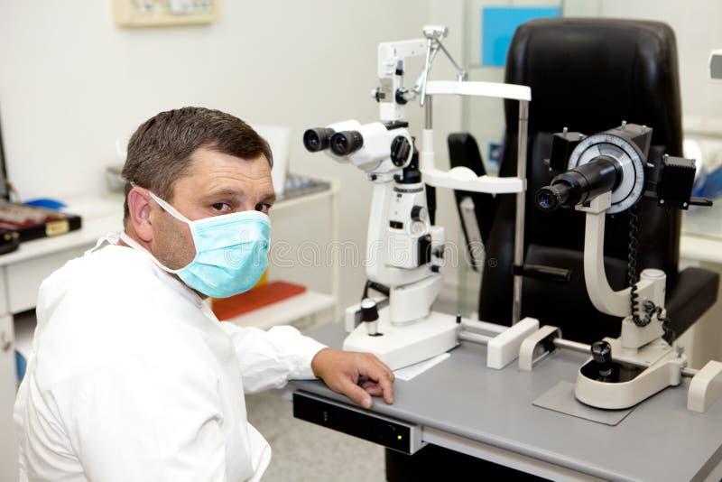 doktorska kliniki okulistyka obraz royalty free