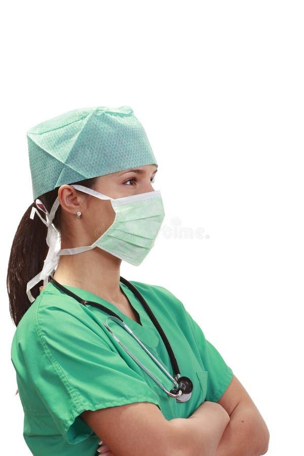 Doktorska Kobieta Fotografia Royalty Free