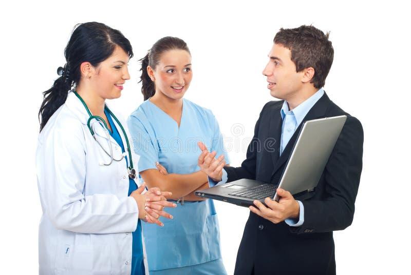 doktorska mężczyzna pielęgniarki osoba obrazy stock