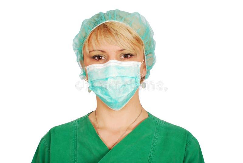 doktorska maskowa kobieta obrazy stock