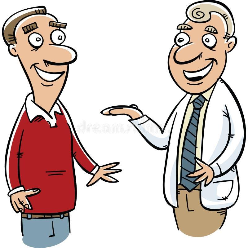 Doktorska rada ilustracja wektor